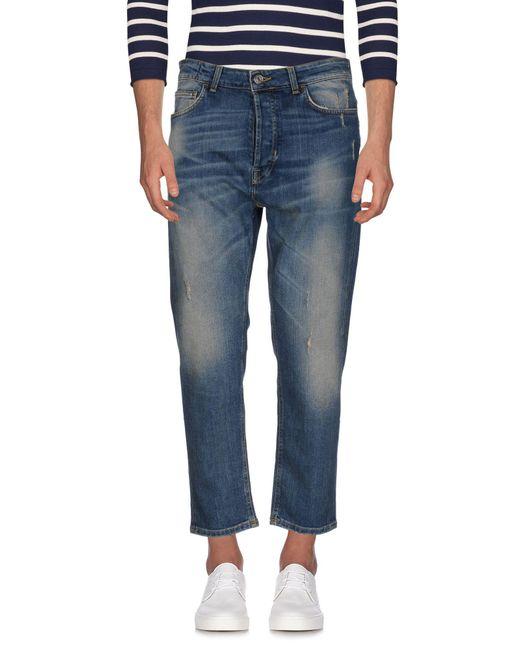 Low Brand - Blue Denim Pants for Men - Lyst