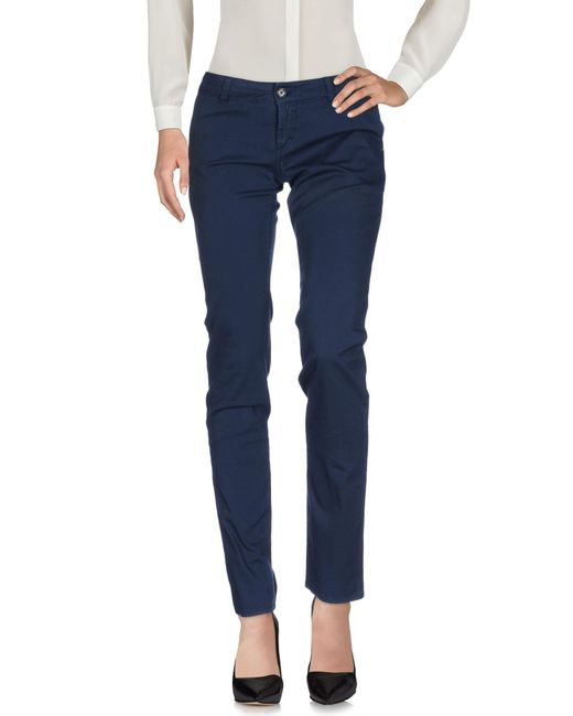 John Galliano   Blue Casual Pants   Lyst