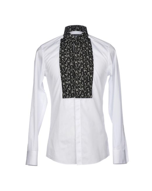Dolce & Gabbana - White Shirts for Men - Lyst