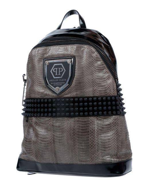 amp; Plein Men Backpacks Philipp Black Lyst Bags In Bum For BqatwZ4w