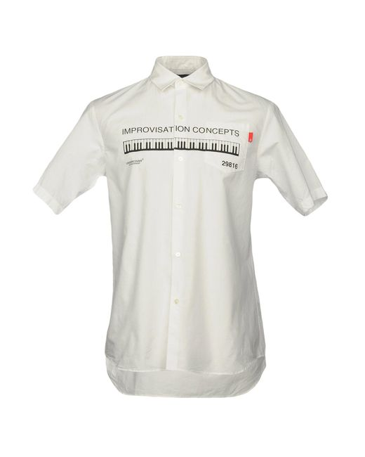 Undercover - White Shirts for Men - Lyst