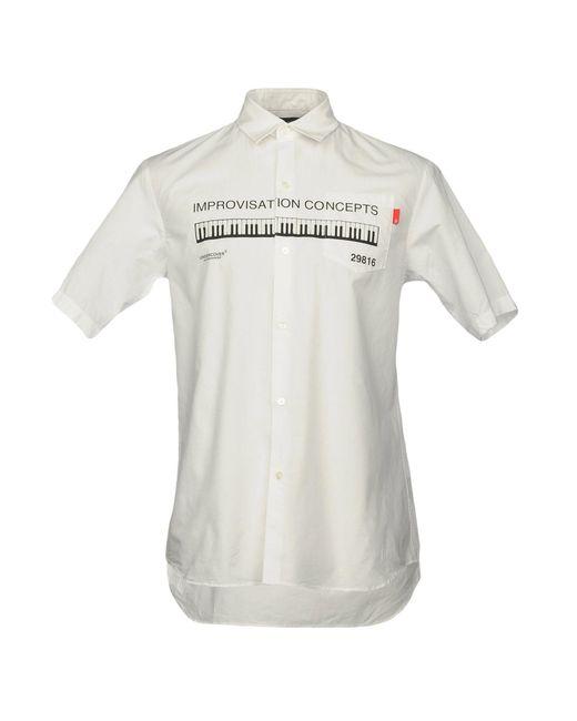 Undercover | White Shirt for Men | Lyst