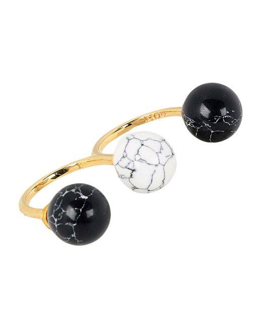 Noir Jewelry - Black Rings - Lyst