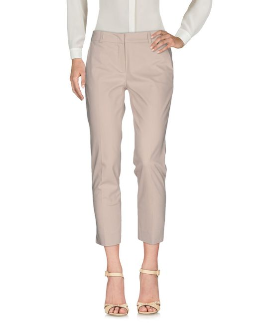 Just For You - Natural Casual Pants - Lyst