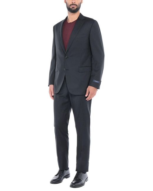 Pal Zileri Black Suit for men