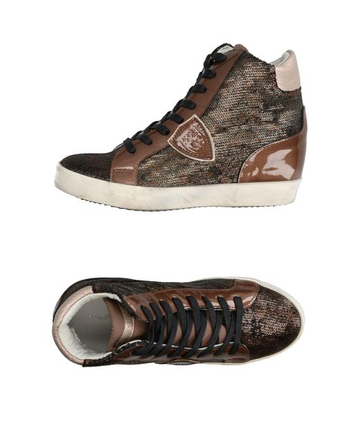 Philippe Model - Brown High-tops & Sneakers - Lyst