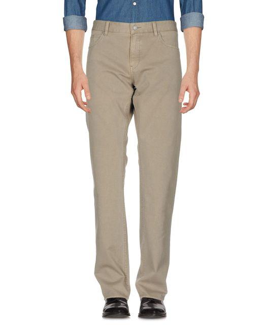 BOSS Green - Gray Casual Trouser for Men - Lyst