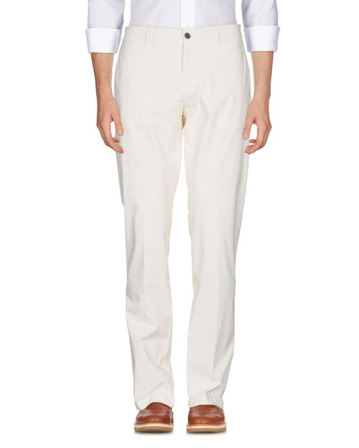 Marina Yachting - White Casual Pants for Men - Lyst