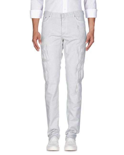Dior Homme - Gray Denim Pants for Men - Lyst
