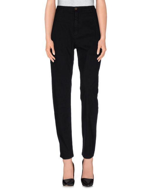 Superfine - Black Casual Pants - Lyst