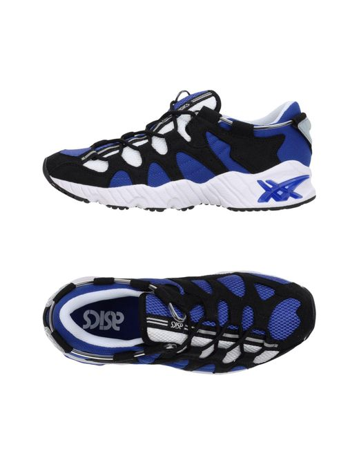 Asics - Blue Low-tops & Sneakers for Men - Lyst
