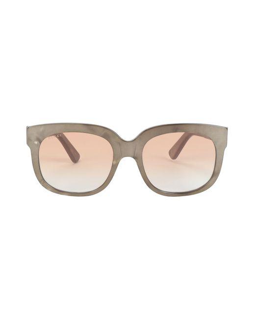13e13944d8 Gafas de sol Gucci de color Neutro - Lyst