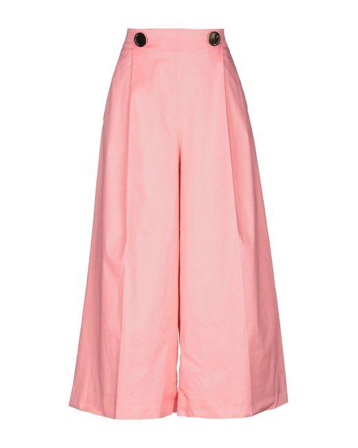 L'Autre Chose - Pink Casual Pants - Lyst
