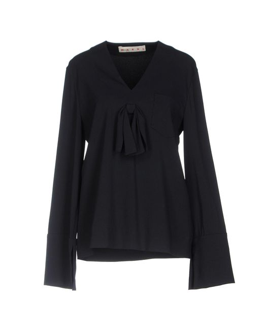 Marni | Blue Blouse | Lyst