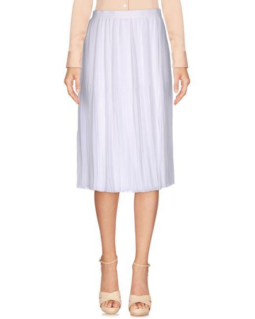 Givenchy - White Knee Length Skirt - Lyst