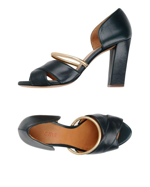 Chie Mihara - Green Sandals - Lyst