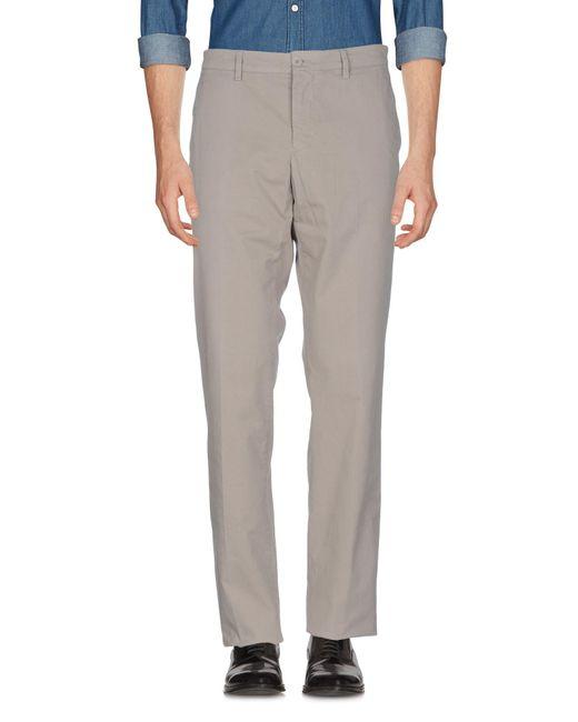 Aspesi - Gray Casual Trouser for Men - Lyst
