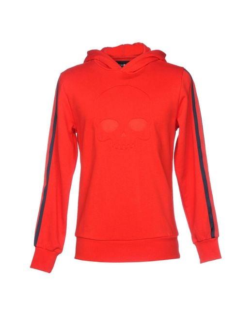 Hydrogen - Red Sweatshirt for Men - Lyst