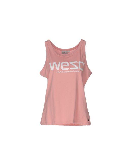 Wesc   Pink Vest   Lyst
