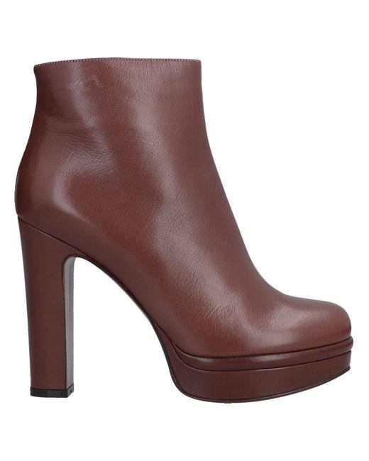L'Autre Chose - Brown Ankle Boots - Lyst