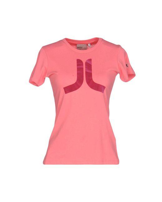 Wesc | Pink T-shirt | Lyst