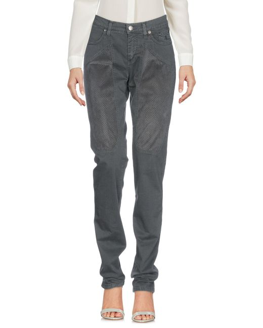 Jeckerson - Gray Casual Trouser - Lyst