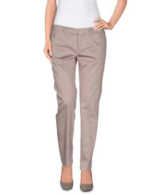 Drykorn - Gray Casual Pants - Lyst