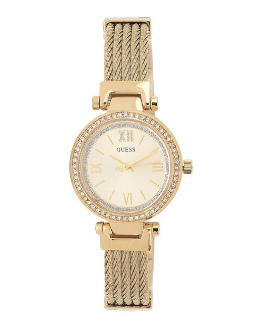 Guess - Metallic Wrist Watch - Lyst