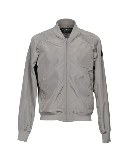 Hydrogen - Gray Jacket for Men - Lyst