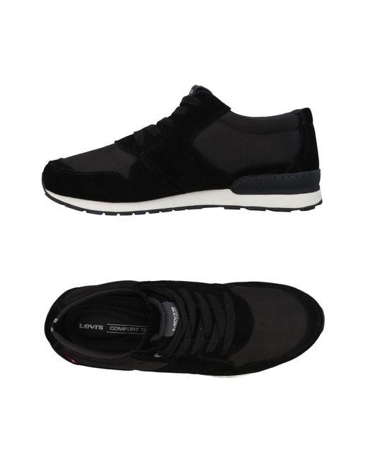 Levi's - Black Low-tops & Sneakers for Men - Lyst