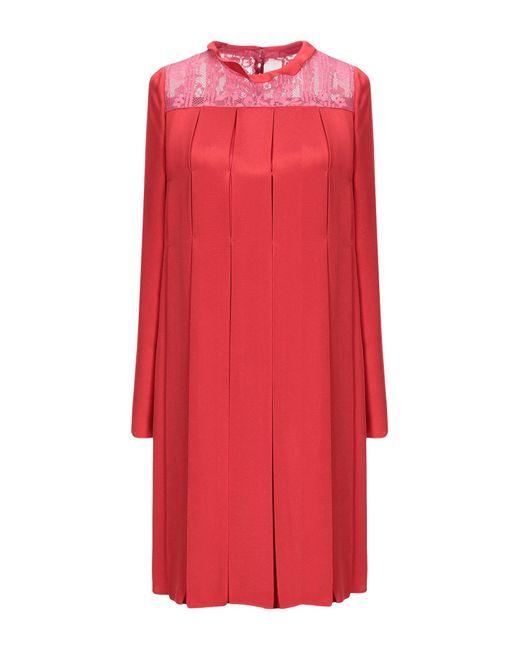 Valentino Red Short Dress