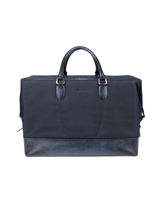 Santoni - Blue Luggage for Men - Lyst