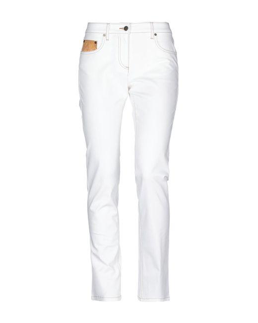 Alviero Martini 1A Classe - White Casual Trouser - Lyst
