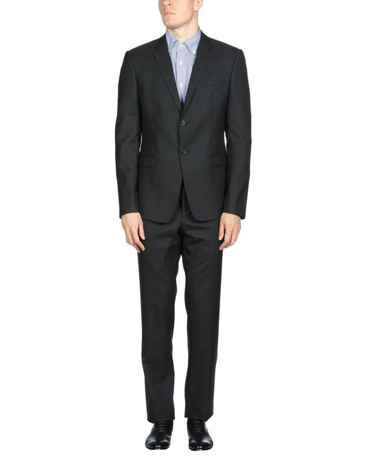 Emporio Armani - Black Suits for Men - Lyst
