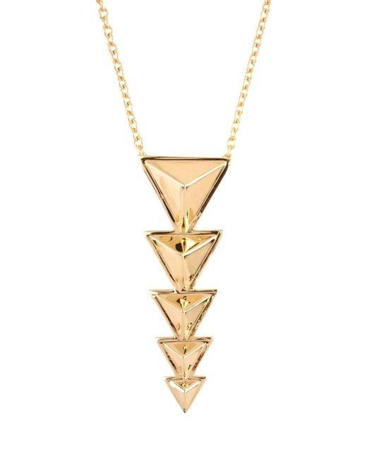 Tomtom - Metallic Necklace - Lyst