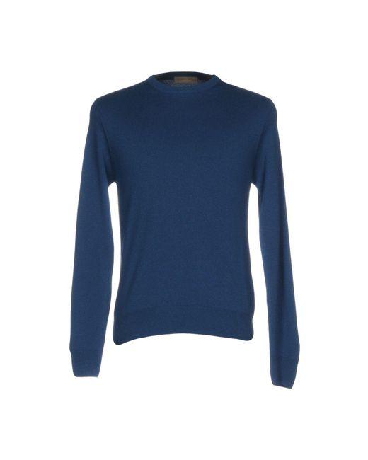 Cruciani - Blue Sweaters for Men - Lyst
