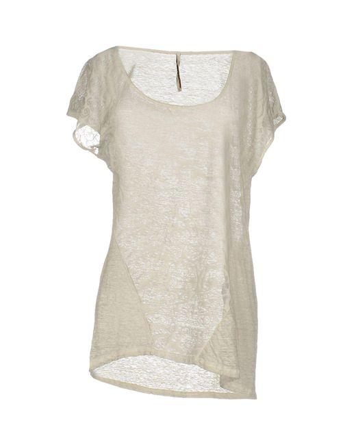 Emma&gaia   Gray T-shirt   Lyst