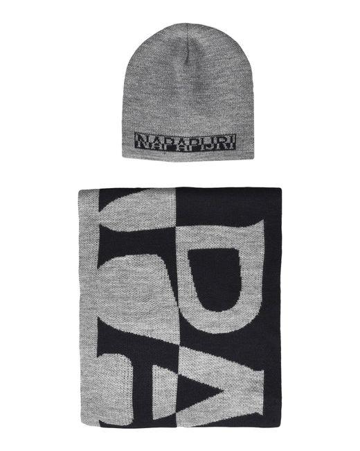 Napapijri - Gray Hats for Men - Lyst