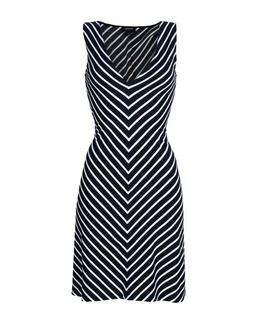 Armani Jeans - Blue Short Dress - Lyst