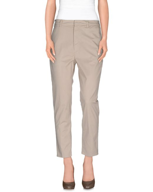 People | Natural Casual Pants | Lyst
