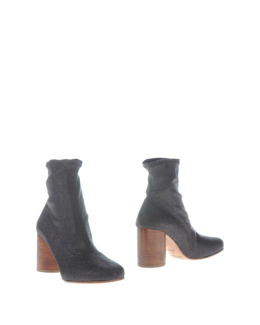 Maison Margiela - Black Ankle Boots - Lyst