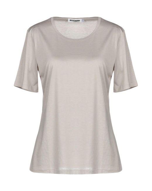Jil Sander - Gray T-shirt - Lyst