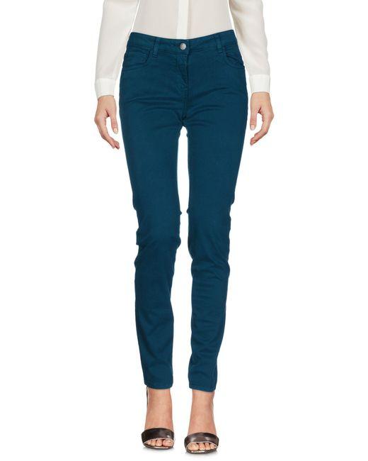 K-Way - Blue Casual Trouser - Lyst