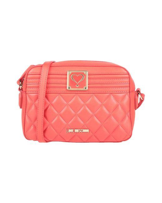 Love Moschino Red Cross-body Bag