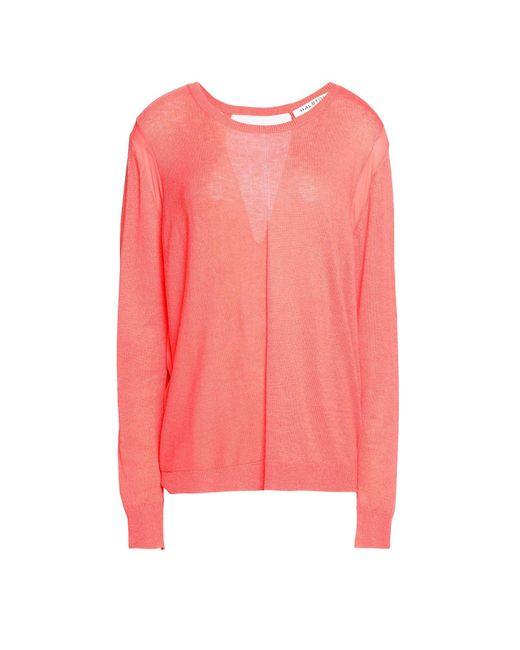 Halston Heritage - Pink Sweaters - Lyst