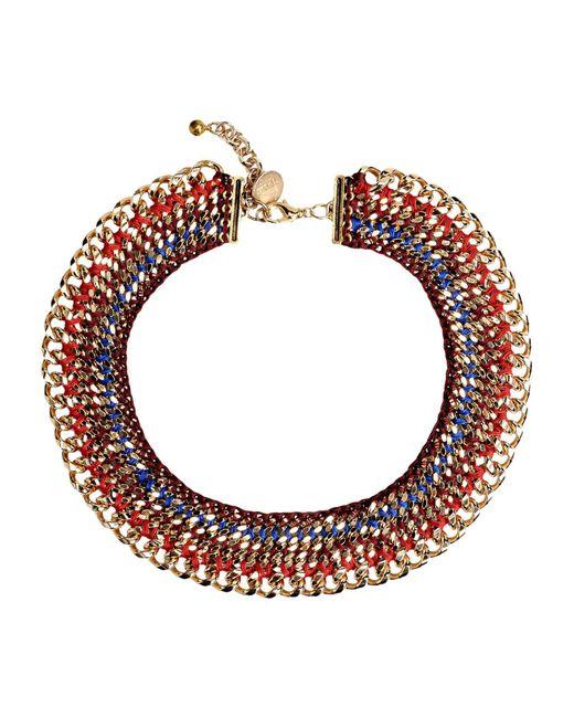 Venessa Arizaga - Red Necklaces - Lyst