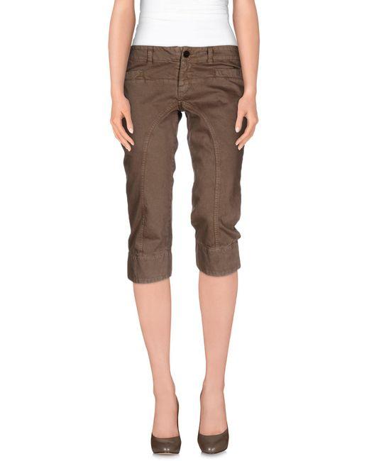 Dondup - Natural 3/4-length Short - Lyst