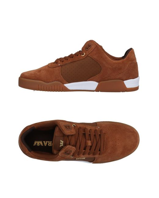 Supra - Brown Low-tops & Sneakers for Men - Lyst