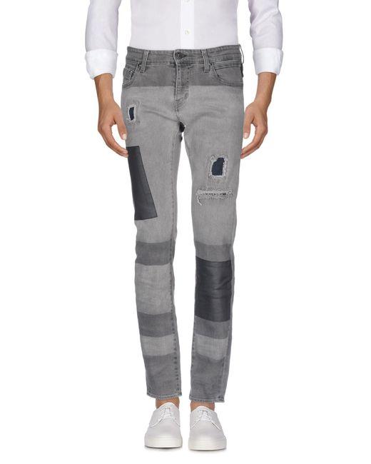 Meltin' Pot - Gray Denim Trousers for Men - Lyst