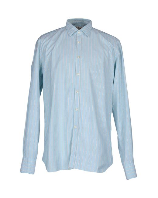 Bevilacqua - Blue Shirt for Men - Lyst